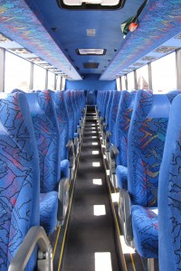 All done. The empty coach.