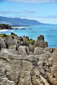 Pancake Rocks looking South